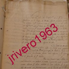 Manuscritos antiguos: ECIJA, 1795, INFORME DE SALUD Y ECONOMICO SOBRE EL MARQUES VIUDO DE PEÑAFLOR, 2 PAGINAS. Lote 200534323