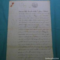 Manuscritos antiguos: MANUSCRITO DE 1861(ISABEL II).PIERA,PARTIDO IGUALADA.MASQUEFA.SANT SATURNO D'ANOYA.PIEROLA.. Lote 200621390