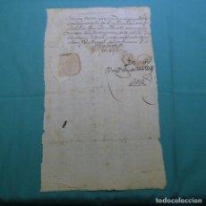 Manuscritos antiguos: ANTIGUO MANUSCRITO SIN DATAR DEL MARQUÉS DE SANTO FLORO(DIEGO ZAPATA CÁRDENAS).CAPITAN GENERAL.. Lote 200622718
