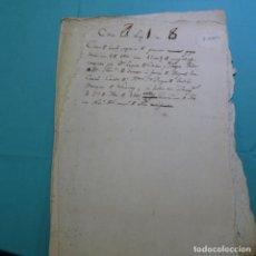 Manuscritos antiguos: MANUSCRITO AÑO 1566.FELIPE II.SAN FRANCISCO DE BORJA Y ARAGÓN(MARQUES DE LOMBAY Y DUQUE DE GANDÍA). Lote 200769893