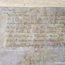 Manuscritos antiguos: (MF) DOCUMENTO ANTIGUO DE SANT FELIU DE GUIXOLS, CREO QUE ES DEL S.XVII, 30 PAG, 22X16 CM, . Lote 200790633
