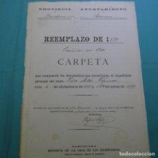 Manuscritos antiguos: MANUSCRITO AYUNTAMIENTO TERRASSA.1900.PEDRO ARBOS FIGUERAS.DOS HOJAS. Lote 200869296