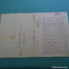 Manuscritos antiguos: MANUSCRITO DE 1742.SANT FELIU DE GUIXOLLS.ROSA BOFILL BATLLE.MATEU PELLICER CUSTONER.. Lote 200871223
