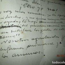 Manuscritos antiguos: 1930 MANUSCRITO ASOCIACION FAVORECEDORES SALUD PUBLICA ALICANTE DOCTOR ANDRES GASCUÑANA 5 PAGINAS. Lote 75100547