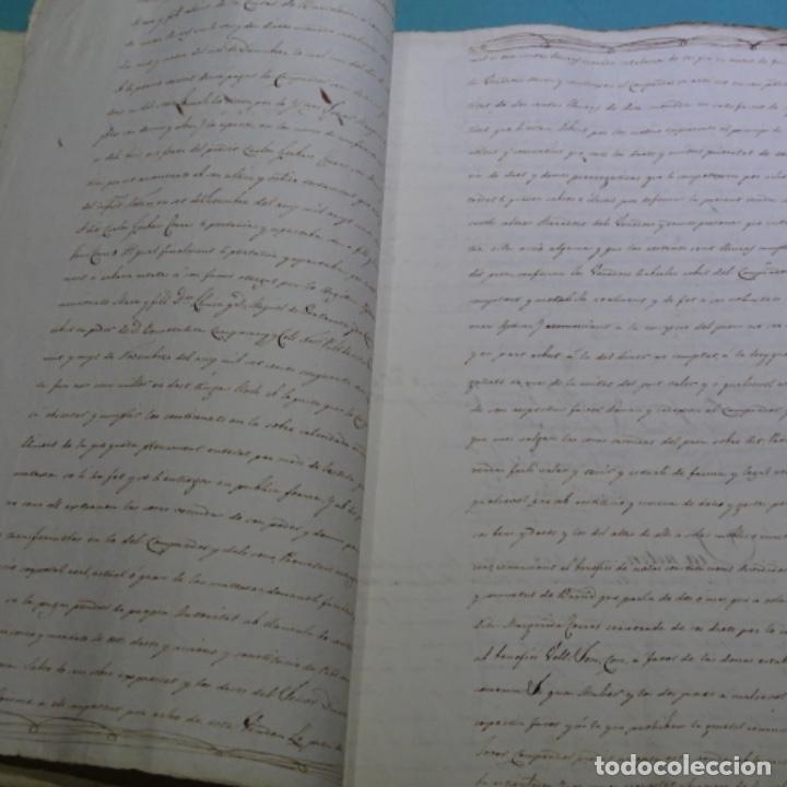 Manuscritos antiguos: Manuscrito escritura de 1837.venta en sabadell.arbitrios de amortización de Mataró.7 hojas. - Foto 5 - 201561490