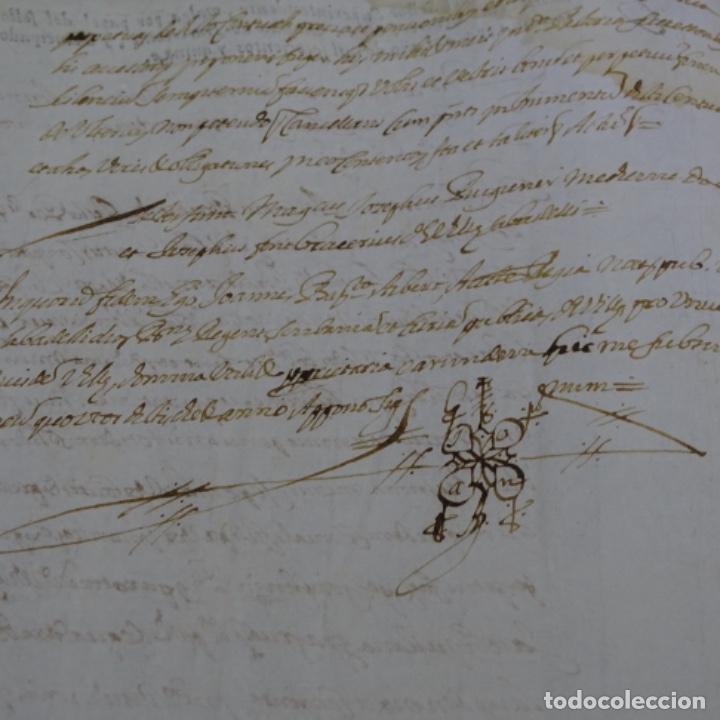 Manuscritos antiguos: Manuscrito autos de sabadell año 1715.principado de Cataluña.4hojas - Foto 4 - 201562846