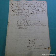 Manuscritos antiguos: BELLO MANUSCRITO DEL AÑO 1828. RECLAMACION DE 40 LIBRAS MONEDA CATALANA.ALCALDE MAYOR DE TERRASSA.. Lote 201563163