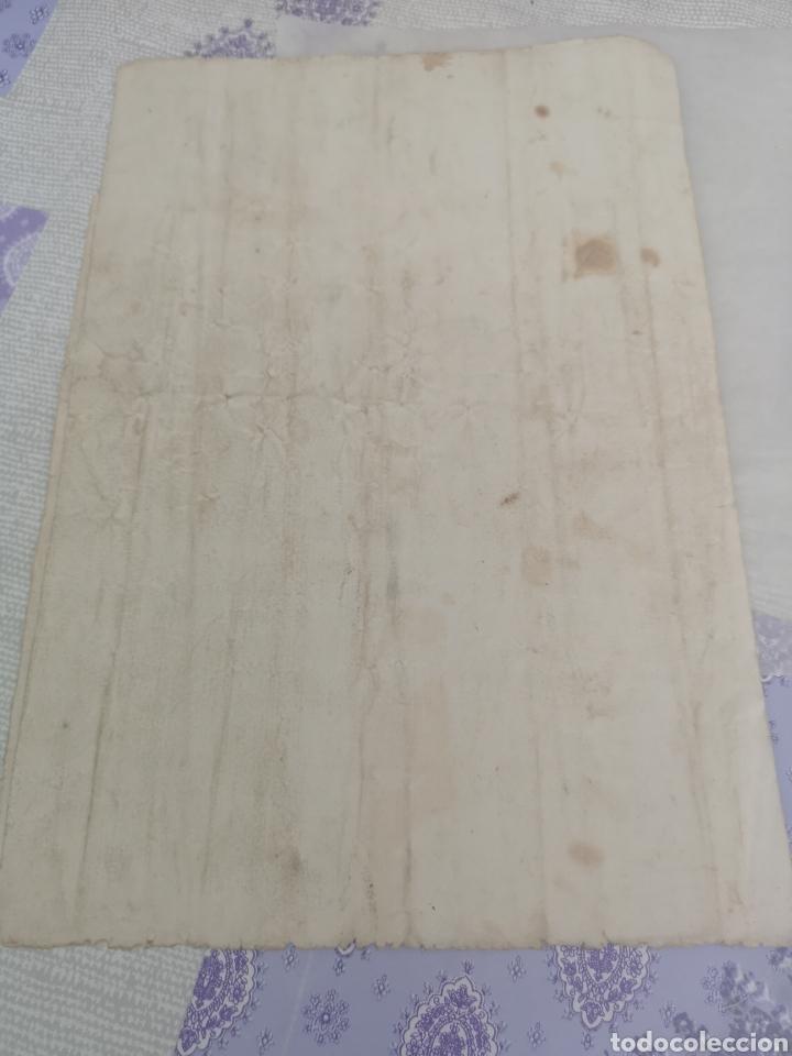 Manuscritos antiguos: Manuscrito antiguo de Trujillo Cáceres le falta un trozo en la primera hoja 1905. - Foto 4 - 201897245