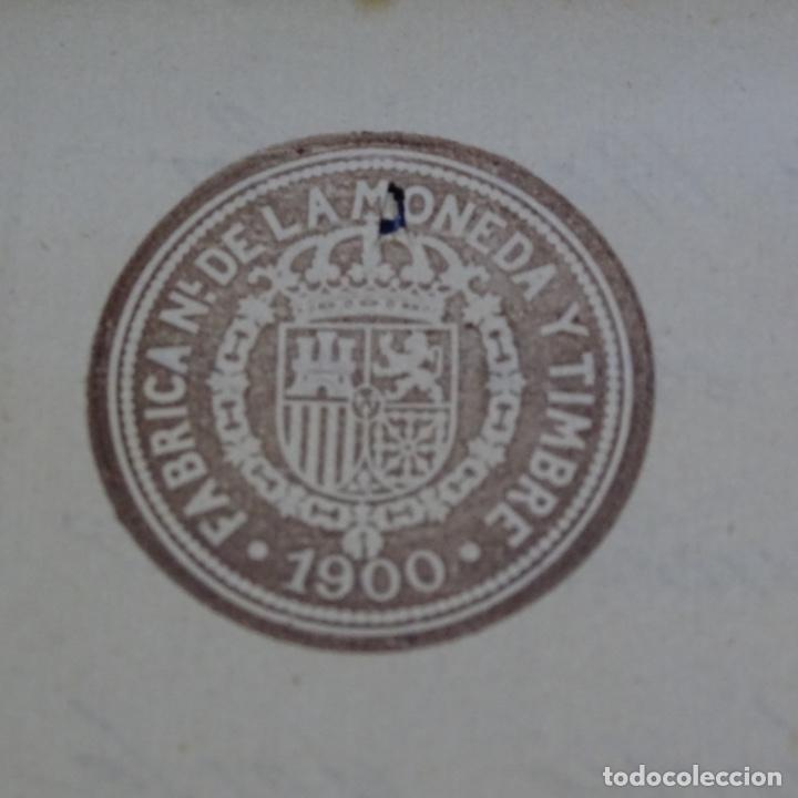 Manuscritos antiguos: Manuscrito escritura mercantil de figueras(Girona) año 1900.2 hojas. - Foto 3 - 202041277