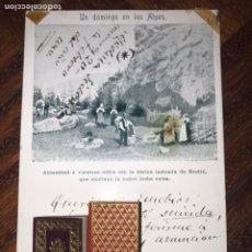 Manuscritos antiguos: POSTAL 1901. CÁDIZ. ESCRITA Y FIRMADA POR EL DOCTOR THEBUSSEM Y ENVIADA A EUSEBIO BLASCO. NESTLE.. Lote 202472133