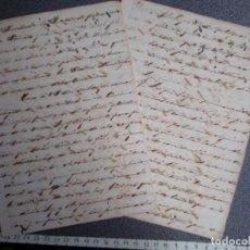 Manuscritos antiguos: ESCLAVITUD CUBA - MANUSCRITO JUNTA DE LIBERTOS RARO BORRADOR FUNCIONAMIENTO PARA LAS RECLAMACIONES. Lote 202491747