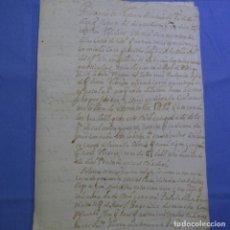 Manuscritos antiguos: MANUSCRITO CARTA DE 1515.EN GALLEGO ANTIGUO.PAGO EN ORENSE.PIÑEIRO.ALTAMIRANO.. Lote 202611868