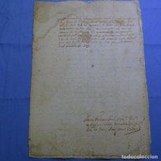 Manuscritos antiguos: MANUSCRITO DE 1740.SELLO FISCAL FELIPE V.VILA DE TERRASSA.6 HOJAS.. Lote 202613570