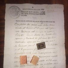 Manuscritos antiguos: SELLO DESPACHOS OFICIO 1808. GUERRA INDEPENDENCIA. ELECCION DE FLORIDABLANCA COMO PRESIDENTE JUNTA. Lote 203050990