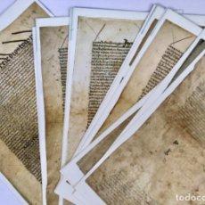 Manuscritos antiguos: FACSÍMIL TESTAMENTO DE ISABEL LA CATÓLICA - V CENTENARIO DE SU MUERTE. Lote 203135881