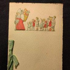 Manuscritos antiguos: FELICITACIÓN NAVIDEÑA. H. 1930. SAN NICOLÁS.. Lote 203296850