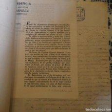 Manuscrits anciens: 1838, DOCUMENTACION SOBRE CONTRABANDO DE TABACO, 4 PAGINAS. Lote 203765521