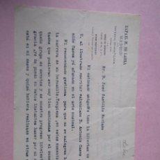 Manuscritos antiguos: CARTA MANUSCRITA CON FIRMA DEL POLÍTICO Y ESCRITOR NACIDO EN HABANA RAFAEL MARÍA DE LABRA CADRANA.. Lote 203878027