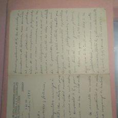 Manuscritos antiguos: CARTA MANUSCRITA CON FIRMA EDUARDO PALACIO VALDÉS PERIODISTA Y POLÍTICO. ASTURIAS. Lote 204318202