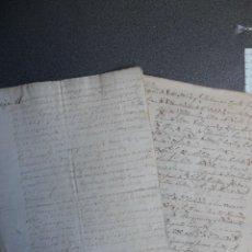 Manuscritos antiguos: LOTE 7 MANUSCRITOS SIGLO XVII-XVIII VALLADOLID RENTAS FAMILIA VERDESOTO DIFERENTES VILLAS. Lote 204483700