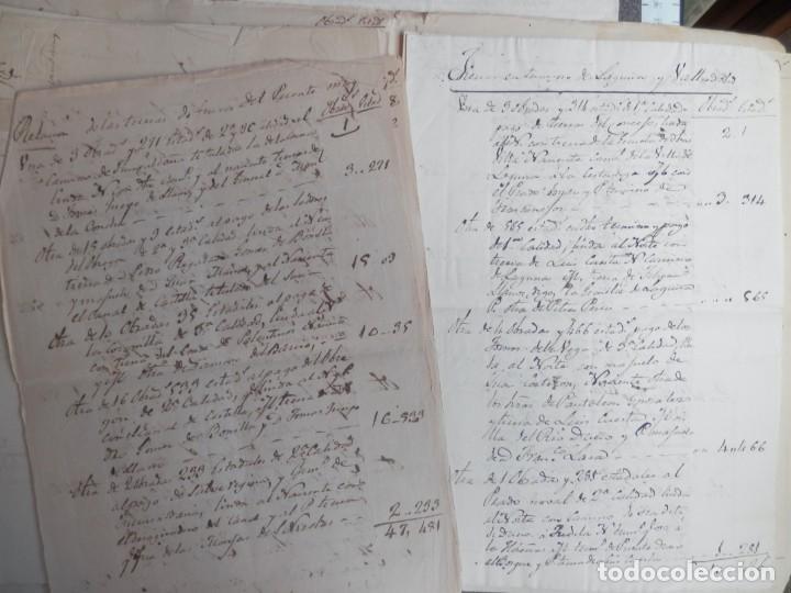 Manuscritos antiguos: LOTE 7 MANUSCRITOS SIGLO XVII-XVIII VALLADOLID RENTAS FAMILIA VERDESOTO DIFERENTES VILLAS - Foto 5 - 204483700