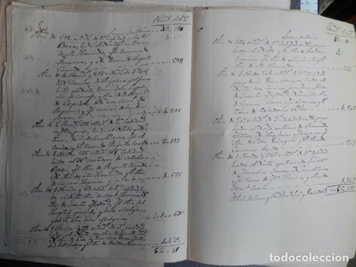Manuscritos antiguos: LOTE 7 MANUSCRITOS SIGLO XVII-XVIII VALLADOLID RENTAS FAMILIA VERDESOTO DIFERENTES VILLAS - Foto 6 - 204483700