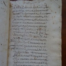 Manuscritos antiguos: VENTA CASAS DE LA CALLE ARENAL, MADRID, A FRANCISCO DE ALARCÓN Y FUNDACIÓN DE CENSO, 1615, 270 PAGS. Lote 204595296