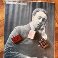 Manuscritos antiguos: 1942. FOTOGRAFÍA Y FIRMA DEDICATORIA DE ARTHUR RUBINSTEIN. FAMOSO PIANISTA.. Lote 205249890