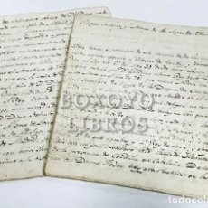 Manuscritos antiguos: MANUSCRITO. LINAJE, SUCESIÓN Y ARMAS DE LOS LÓPEZ DE HARO, SEÑORES DE VIZCAYA. SIGLO XVIII. Lote 205275487