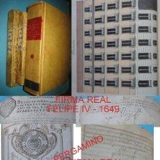 Manuscritos antiguos: MADRID CASA CALLE PRECIADOS Nº 33 CONDESA DE VISTAHERMOSA TITULOS PLANOS ETC - 3 FIRMAS REALES - VER. Lote 205600068