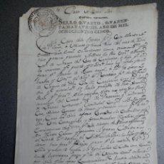 Manuscritos antiguos: MANUSCRITO AÑO 1805 FISCALES 4ºS SANTA Mª DE PILOÑO PONTEVEDRA CONDICIONES RENTA TIERRAS BONITA FIRM. Lote 205810092