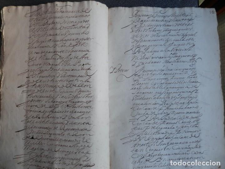 Manuscritos antiguos: MANUSCRITO AÑO 1639 FISCAL 2º RARO Y LUJO MADRID ESCRITURA VENTA Y CENSO 32 PÁGINAS - Foto 4 - 206180271