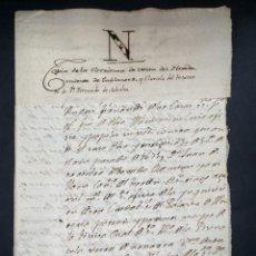 Manuscritos antiguos: SEVILLA, 1555.COPIA ESCRITURA DE VENTA POR HERENCIA DE TABLANTES Y CLAUSULA TESTAMENTO SAAVEDRA.LEER. Lote 206217395