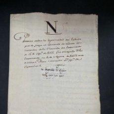 Manuscritos antiguos: ESPARTINAS,SEVILLA,1649.TESTAMENTO DE ANDRES PEREZ MANRILLA DE ESPARTINAS OTORGADO POR SAAVEDRA.LEER. Lote 206218113