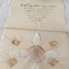 Manuscritos antiguos: VICARIO GENERAL CASTRENSE DE LA SUBDELEGACIÓN APOSTÓLICA DE BARCELONA 1830. Lote 206224333