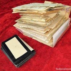 Manuscritos antiguos: LOTE DE CORRESPONDENCIA DE ZENÓN GASSER. MANUSCRITOS. ESPAÑA. CIRCA 1930. Lote 206310485