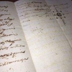 Manuscritos antiguos: 1677. CENSAL SOBRE UNA CASA. FIRMA NOTARIAL FELIPE VELASCO. VALENCIA. Lote 206459776