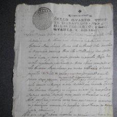 Manuscritos antiguos: MANUSCRITO AÑO 1757 FISCAL 4º SESTRICA - MORES CALATAYUD ZARAGOZA PLEITO DEUDAS. Lote 206762956