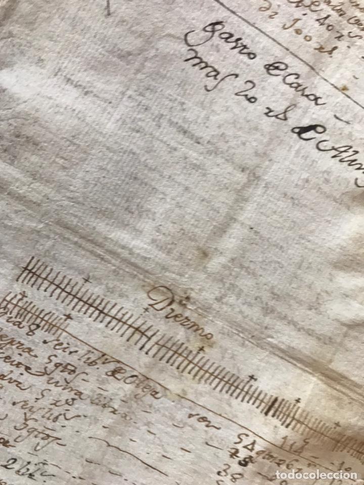 Manuscritos antiguos: MANUSCRITO VINO, VENDIMIA, VENDIMIADORAS 1804. ZARATÁN, VALLADOLID. COBANILLEROS, TROTADORES, CABALL - Foto 5 - 206960553