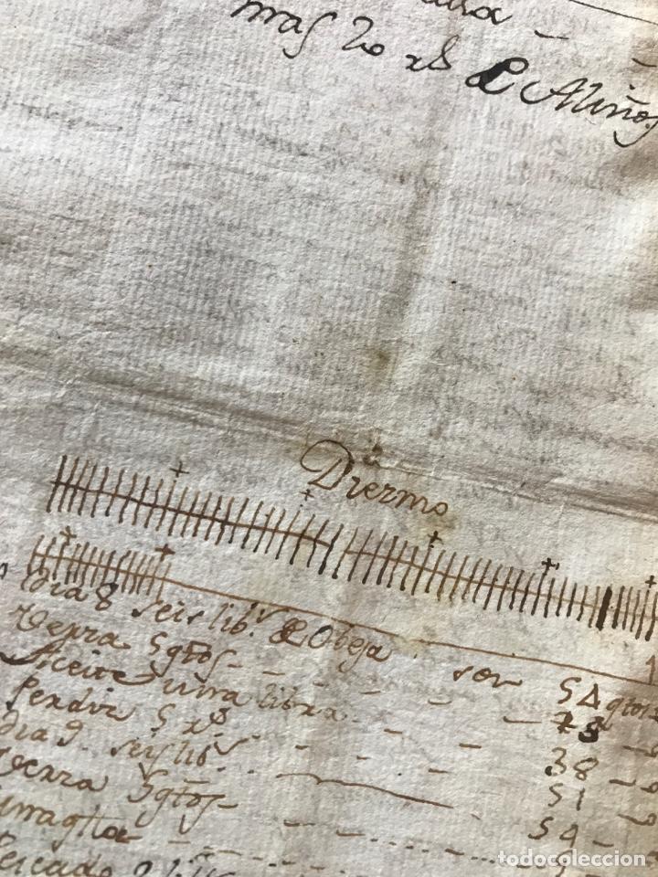 Manuscritos antiguos: MANUSCRITO VINO, VENDIMIA, VENDIMIADORAS 1804. ZARATÁN, VALLADOLID. COBANILLEROS, TROTADORES, CABALL - Foto 7 - 206960553