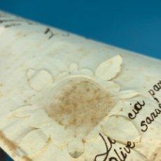 Manuscritos antiguos: MANUSCRITO LICENCIA CONTRAER MATRIMONIO ANTONIO OLIVER SARGENTO DE LA COMPA.MARQUES DE TORRENUEVA.... Lote 207891570