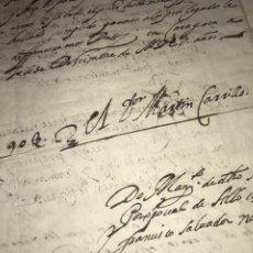 Manuscritos antiguos: ZARAGOZA 1600-4. TESTAMENTO, CARTA FALLECIMIENTO INFANZÓN HMNO OBISPO. FIRMA ABAD MARTÍN CARRILLO. Lote 207906602