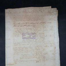 Manuscritos antiguos: PUERTO DE SANTA MARIA, 1815. BALANCE CONTABLE. JEREZ DE LA FRA. FACTURAS. LEER.. Lote 208217848