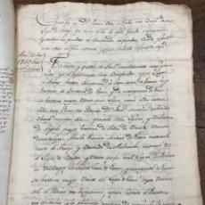 Manuscritos antiguos: MANUSCRITO LEGITIMIDAD, LIMPIEZA Y NOBLEZA DE SANGRE. ARROYO. CORRO, ALAVA. AÑO 1827. Lote 209110288