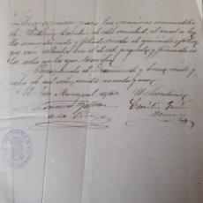 Manuscritos antiguos: LIBRO COPIADOR CARTAS OPERACIONES MERCANTILES ANTONIO ESCUDERO PEÑARANDA BRACAMONTE SALAMANCA 1891. Lote 209713583