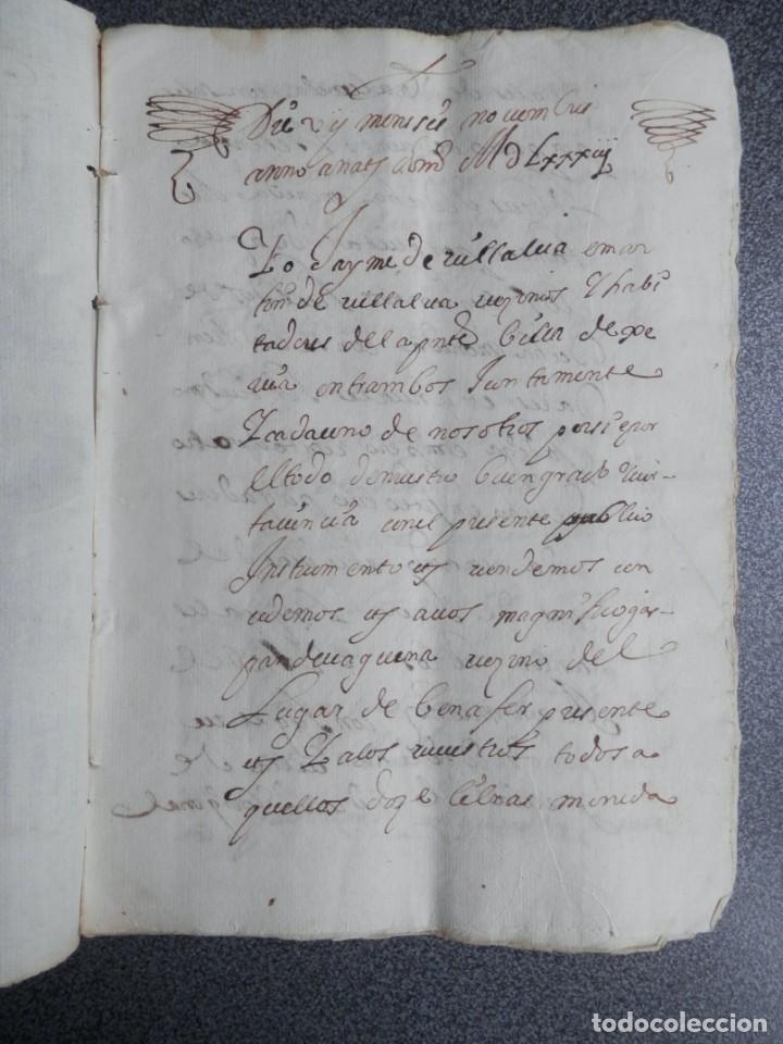 MANUSCRITO AÑO 1583 JÉRICA CASTELLÓN 10 PÁGS. EN VALENCIANO VENTA 10 PÁGINAS (Coleccionismo - Documentos - Manuscritos)