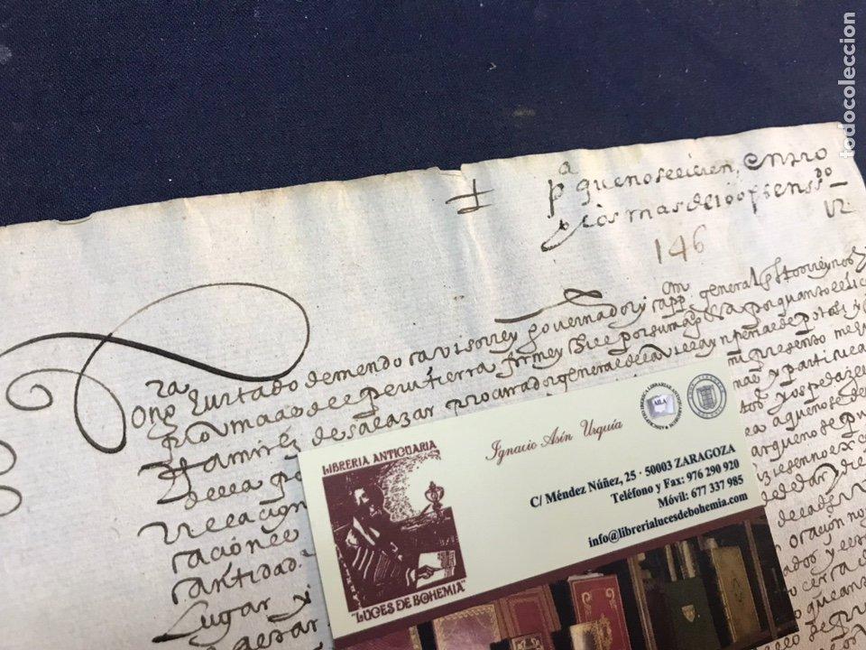 Manuscritos antiguos: IMPORTANTE FIRMA VIRREY GARCÍA HURTADO DE MENDOZA. 1592. AMÉRICA, MINAS, POTOSÍ, CUENCA, PLATA. PERÚ - Foto 4 - 210029033