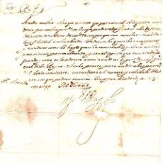 Manuscritos antiguos: FIRMA REAL FELIPE IV ORDENANDO ACUDIR CON SEQUITO PARA DEFENSA DEL REINO DE CERDEÑA. 1625. Lote 210109933