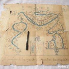 Manuscritos antiguos: ARBOL CRONOLÓGICO DE LOS REYES DE ESPAÑA. TRABAJO ESCOLAR. ALFONSO XII. FINALES S. XIX.. Lote 210365350