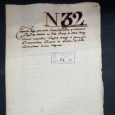 Manuscritos antiguos: SEVILLA,1667. CARTA DE PAGO. MERCADER INGLES. SEGURO HASTA LONDRES. 1 SELLO-TIMBRE. LEER. Lote 210640256